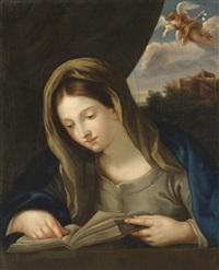 studierende jungfrau maria und erzengel gabriel by anonymous-italian (17)