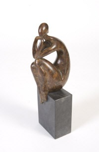 seated woman by ana duncan