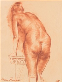 a bending back by nora heysen