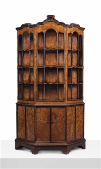 fine cabinet, commissioned by adam black by ernest william gimson