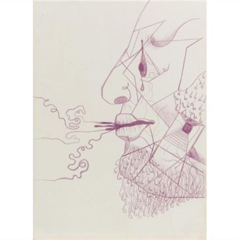 surrealist drawing diego by frida kahlo