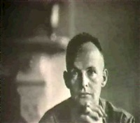 portrait of henri cartier bresson by beaumont newhall
