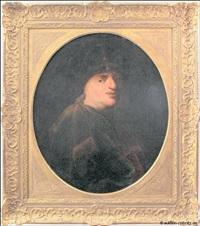 porträt von aert de gelder (?) in orientalischem gewand by aert de gelder