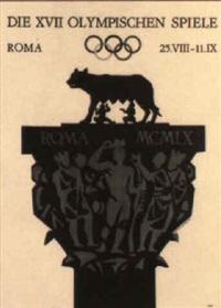 die xvii olympischen spiele - roma by armando testa