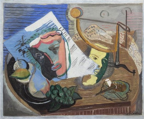 still life by louis schanker