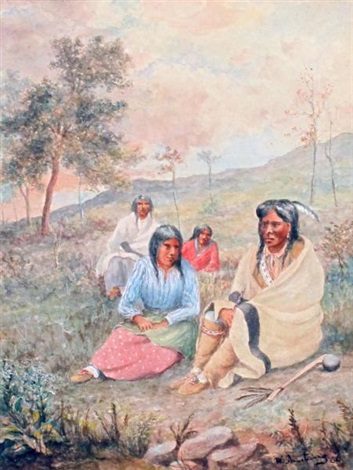 chippewa indians by william armstrong