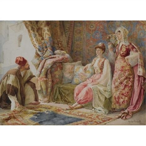 the carpet seller by amedeo simonetti