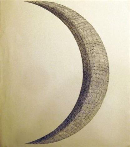 le croissant de lune by domenico gnoli