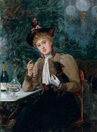 jeune élégante by alberto vianelli