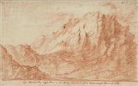 der pilatus-berg nächst luzern in der schweiz by johann jakob dorner the elder