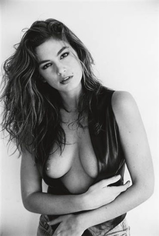 cindy crawford by sante dorazio