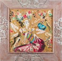 two dancers by nyoman gunarsa