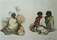 te werowero, or potatau the principal chief of all waikato. te waru, principal chief of the nga ti apakura tribe by george french angas
