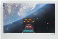 art4space 3d by invader