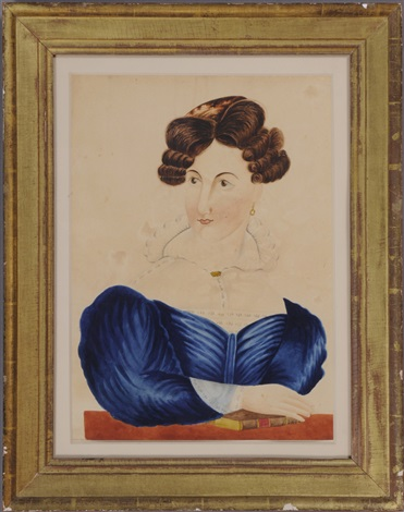 portrait of a lady with book by emily eastman