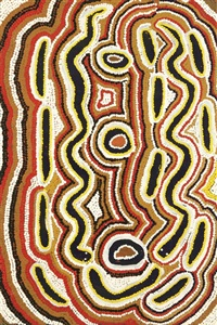 warna - snake dreaming by mona napaltjarri rockman