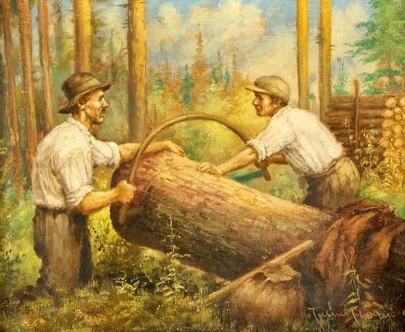 dřevorubci by josef kamenitzky steiner