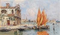 la giudecca, venedig by antonio maría de reyna manescau
