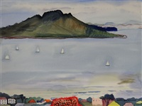 towards rangitoto by annie baird