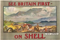 see britain first - on shell, ben lomond by dominique charles fouqueray