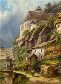 hallstatt by carl haunold