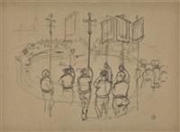 RELIGIOUS CEREMONY, BRITTANY, 1891