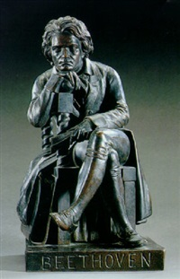a pensive beethoven by william wetmore story