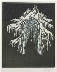 winter; untitled (from aurtor de la reine des neiges) (2 works) by lars bo