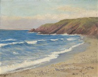 a sunny day on the coast by maud hall (rutherford) neale