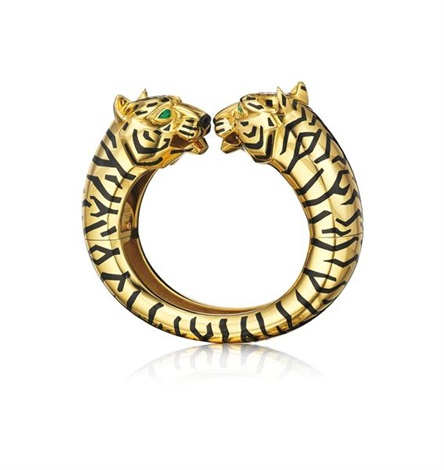 panther bangle bracelet by cartier
