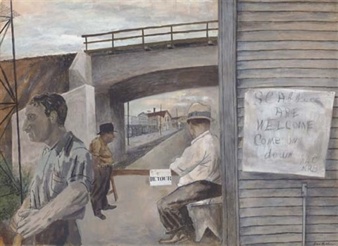 scabbies are welcome by ben shahn