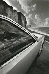 auto-psy, falaises près de dieppe by jeanloup sieff
