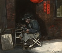 chinese shoemaker by charles albert rogers