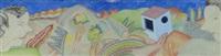 paesaggio e figure by luca alinari