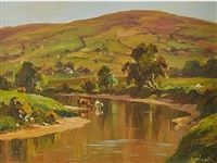 cattle by the river dun by donal mcnaughton