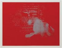 untitled (set of 5 works) by john latham