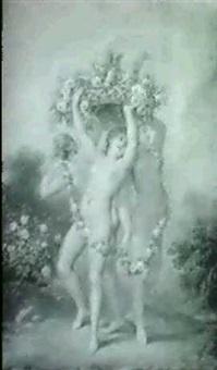 les trois graces by francois (marie isod.) queverdo