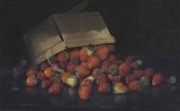 strawberries in a basket by joseph decker