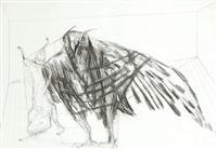 athene (+ der köder, 1962; 2 works) by heinz battke