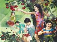 memetik buah by dadan gandara