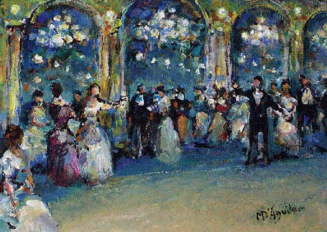 la traviata att ii libiamo nei lieti calici by michael d aguilar