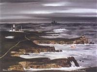 beanna thoraí - a coastal scene off tory island by patsy dan rodgers
