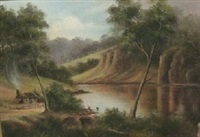 warragamba river nsw by charles (chas) young