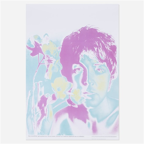 beatles posters set of four by richard avedon