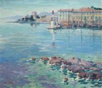 l'entrée du port de beaulieu sur mer by antoine daens