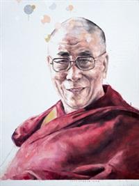 dalai lama iii by agus suwage