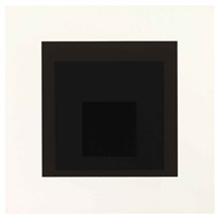 profundo (from soft edge-hard edge) by josef albers