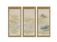 gods (triptych) by mitsufumi tosa
