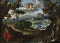 paesaggio con la maddalena by pier paolo (g.b. carracci) bonzi
