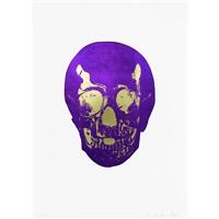 imperial purple oriental gold skull